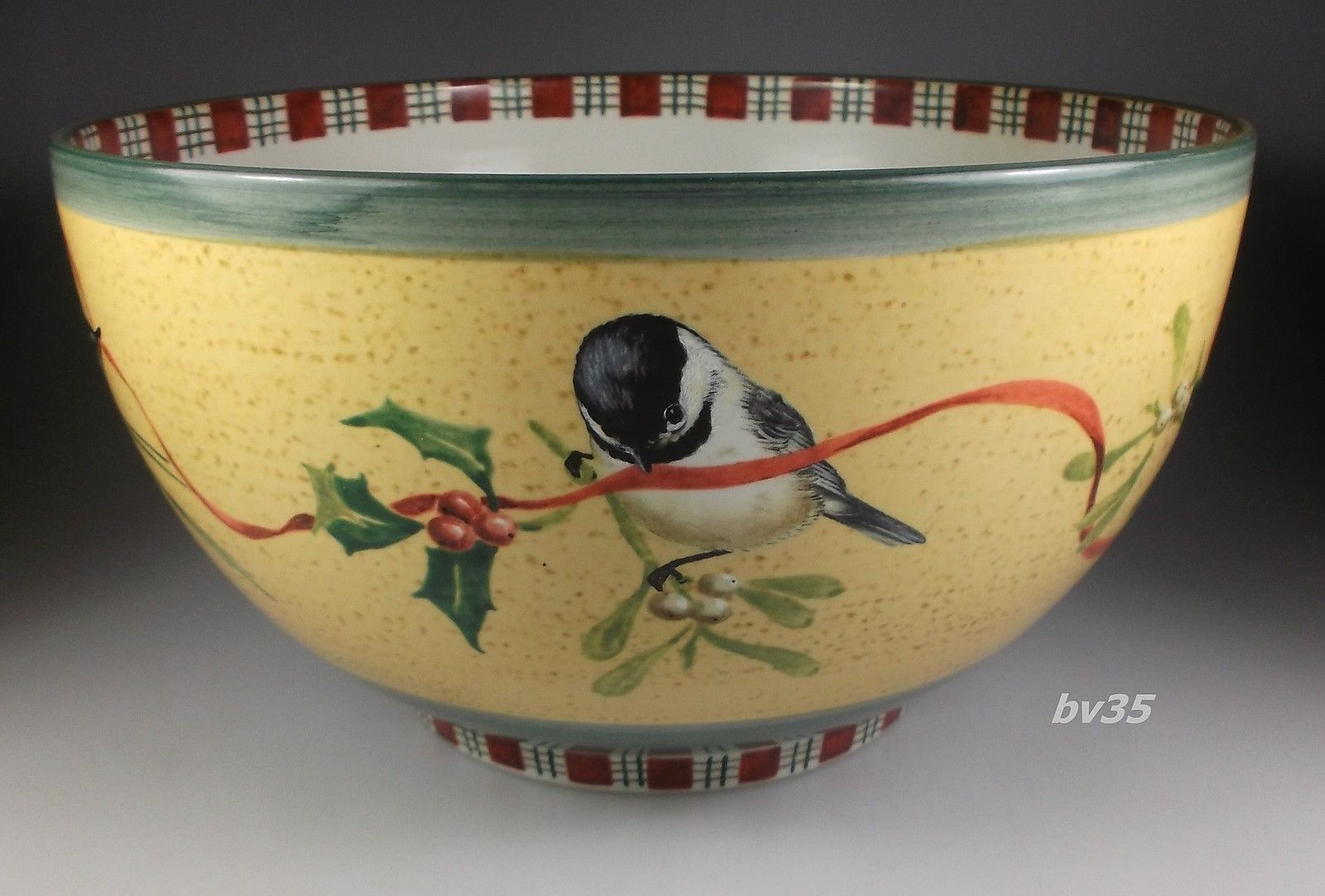 Lenox winter greetings everyday stoneware by catherine mcclung l lenox winter greetings everyday stoneware by catherine mcclung large 1125 salad bowl m4hsunfo