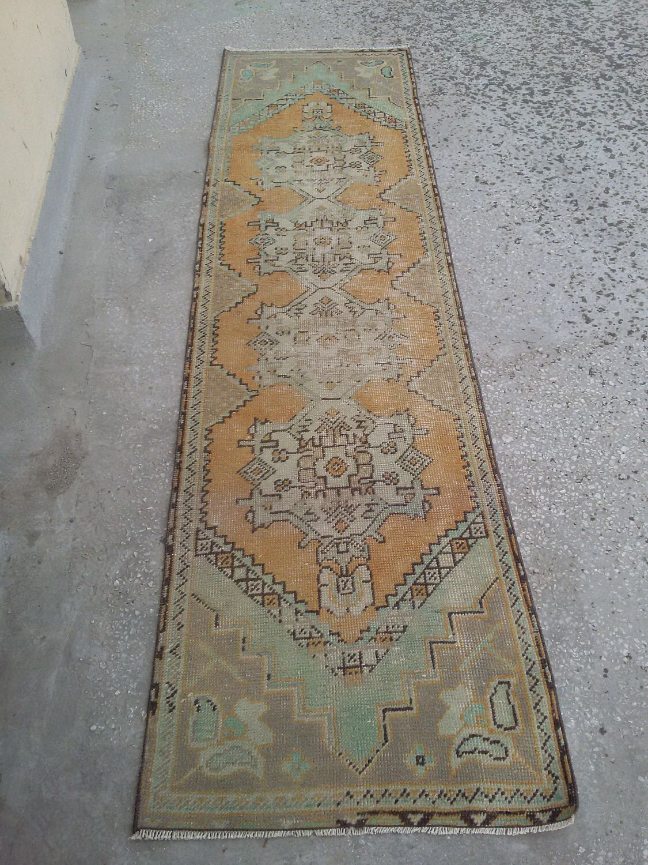 Runner rug,floor runner rug.9.3x2.3turkish runner rug