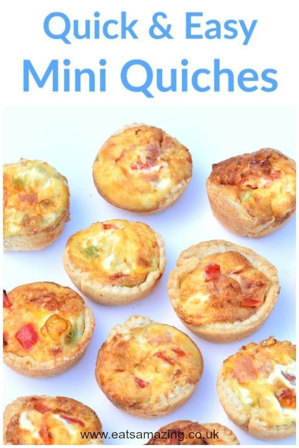 Mini Quiches | Recipe | Mini quiche recipes, Quiche ...