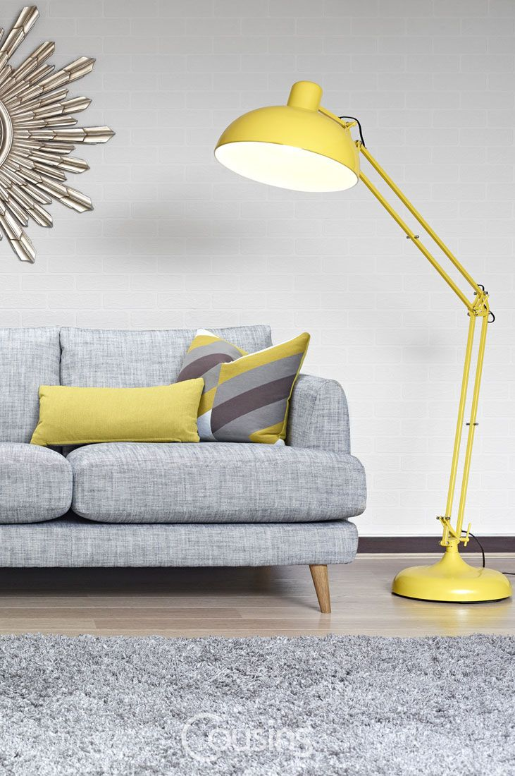 Lamps Extra Large Desk Style Floor Lamp Yellow Lamps Living Room Floor Lamps Living Room Fabulous Living Room Decor