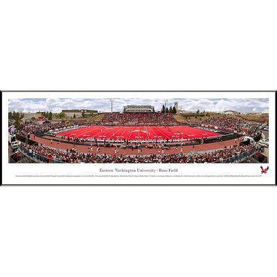 BlakewayPanoramas NCAA 50 Yard Line Standard Frame Panorama NCAA ...