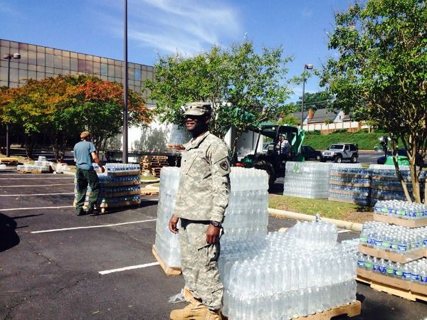 USA: Waiting for Water After Hurricane Joaquin - World Moms Blog