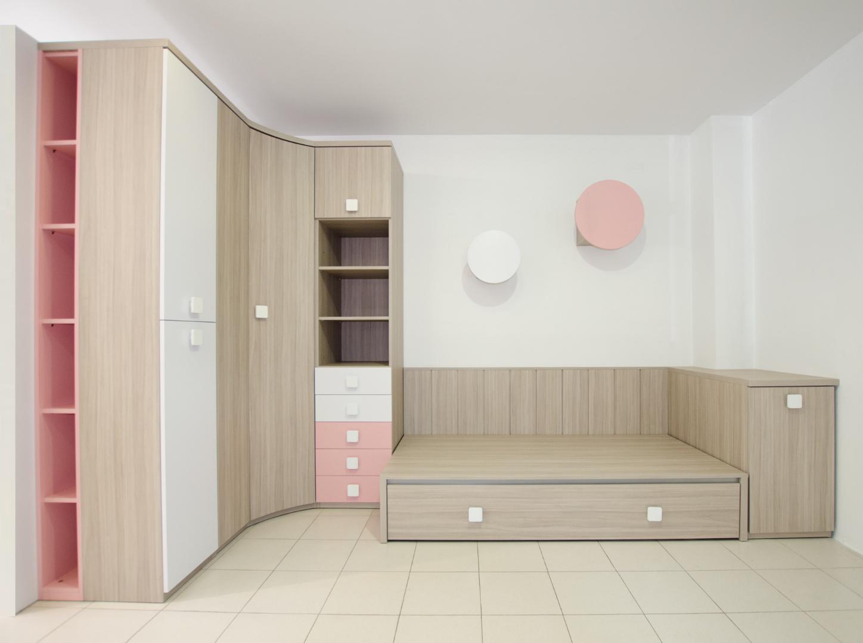 Habitaci n juvenil moderna de dise o a medida web muebles - Habitacion juvenil diseno ...