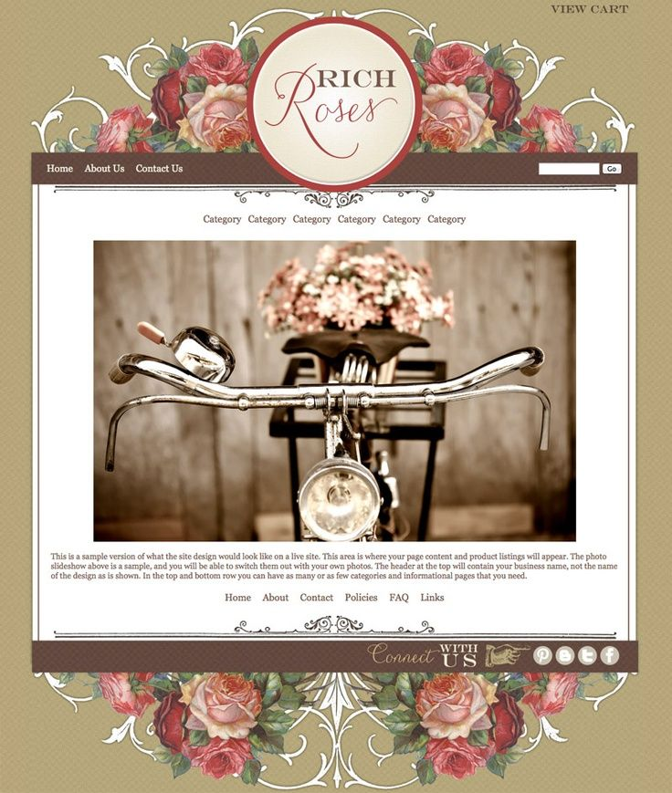 boutique website templates, online store, ecommerce - Google Search ...