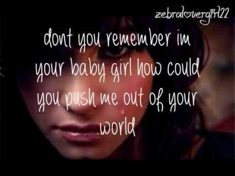 Heard This Morning Completely Hit Me Hard Poor Maeli Hope SheC Bseven Daughter Lyricsstay Strongdemi Lovato Fatherthis