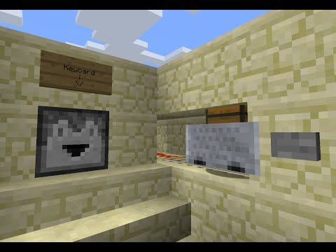 Redstone Bank System in Minecraft - YouTube | Minecraft fun