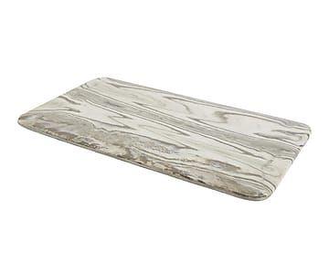 Fuente de porcelana Matiz - mármol