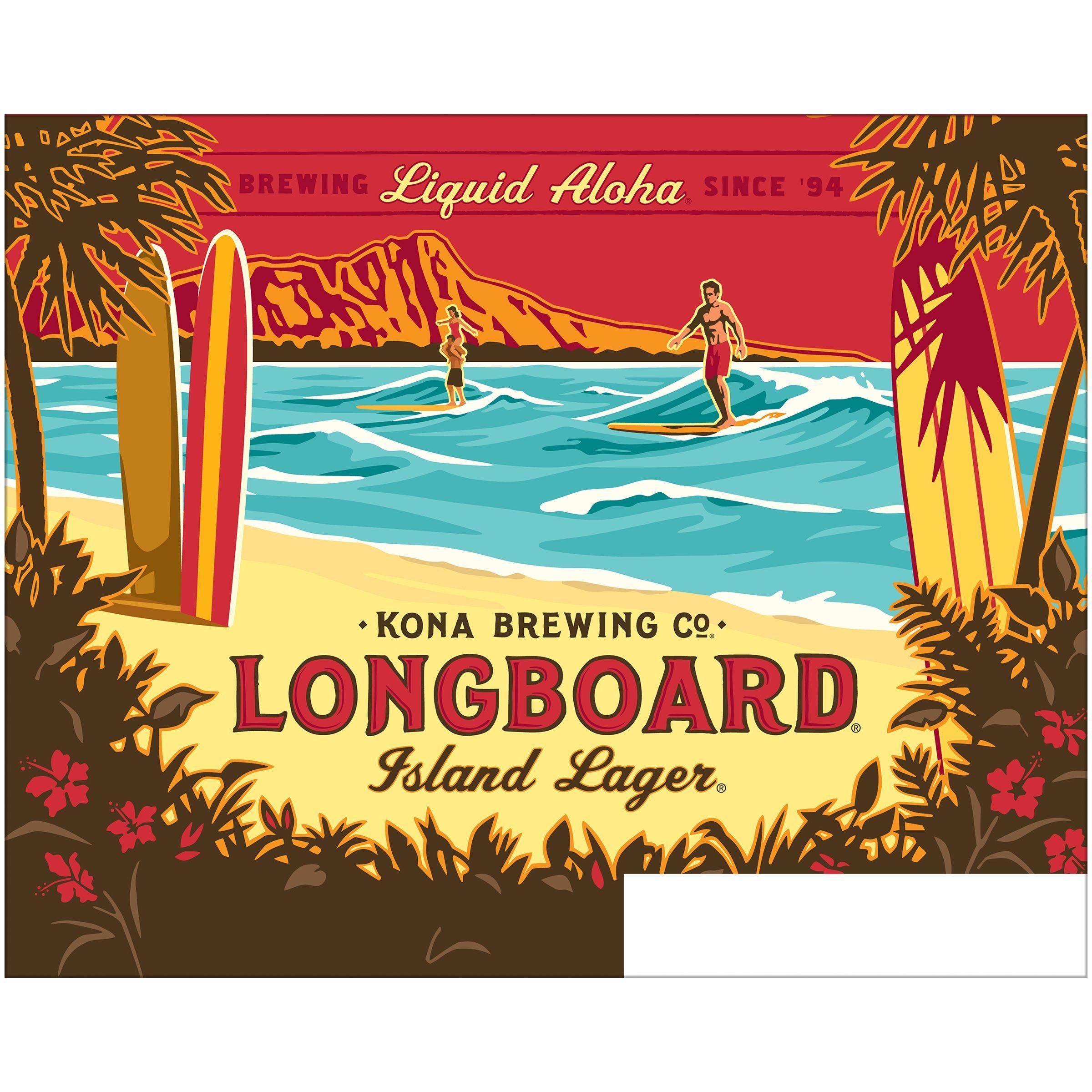 buy kona longboard lager 12 pk 12 fl oz bottles at walmart com rh pinterest com
