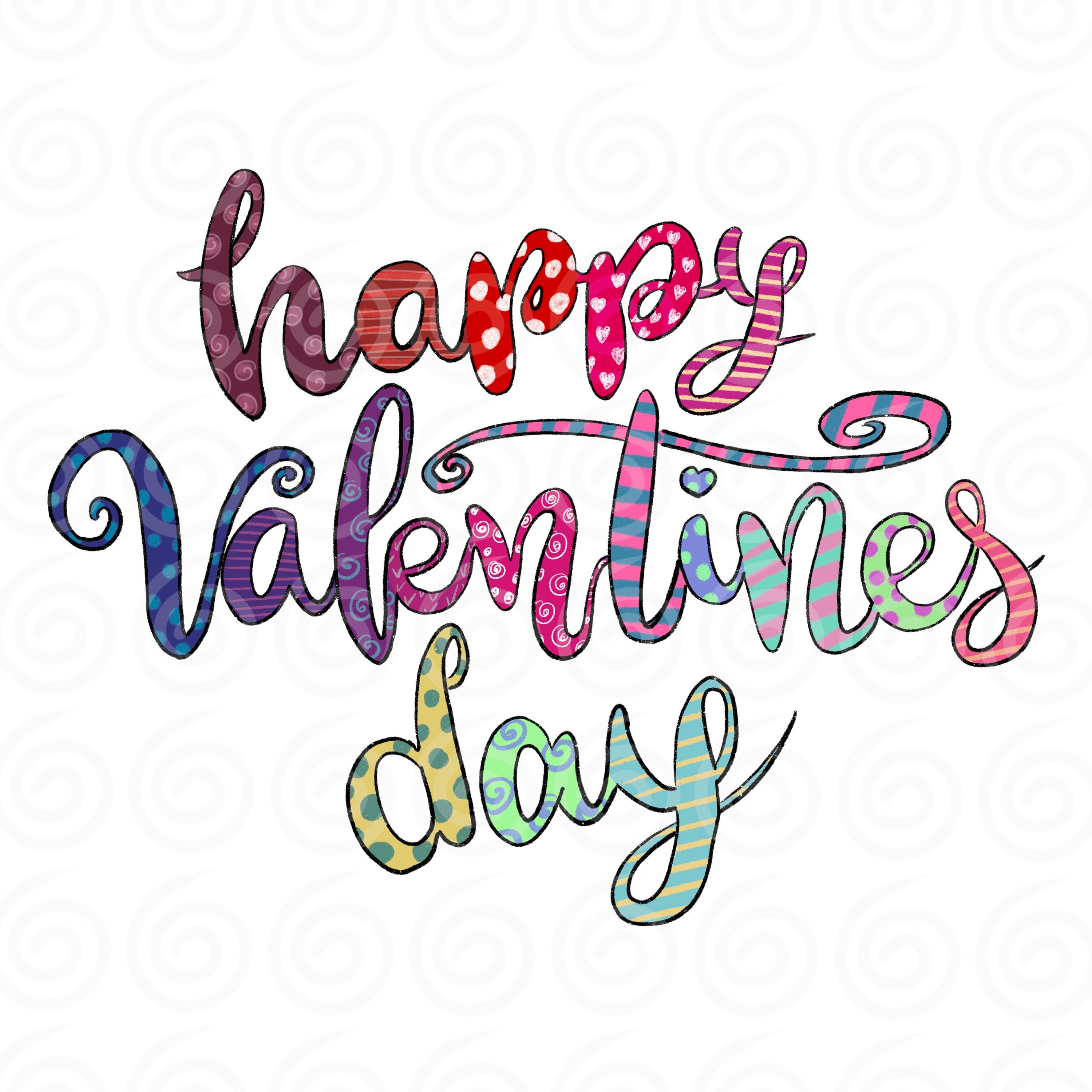 Happy Valentines Day Png Valentines Digital Sublimation My Etsy In 2021 Happy Valentines Day Clipart Happy Valentines Day Images Valentines Day Clipart