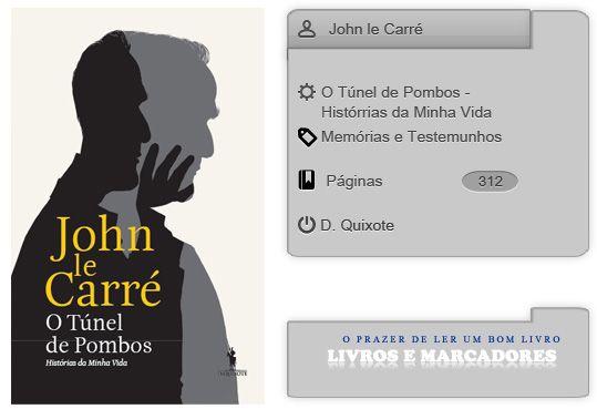 Livros e marcadores: O Túnel de Pombos - Histórrias da Minha Vida de Jo...