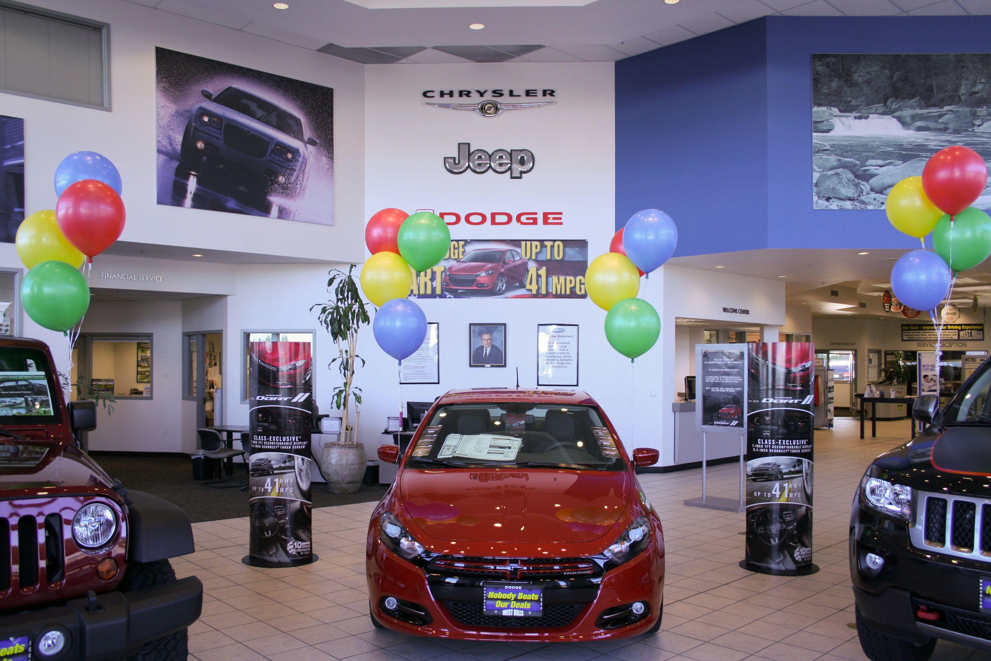 Showroom At West Hills Chrysler, Jeep, Dodge In Bremerton, Wash.