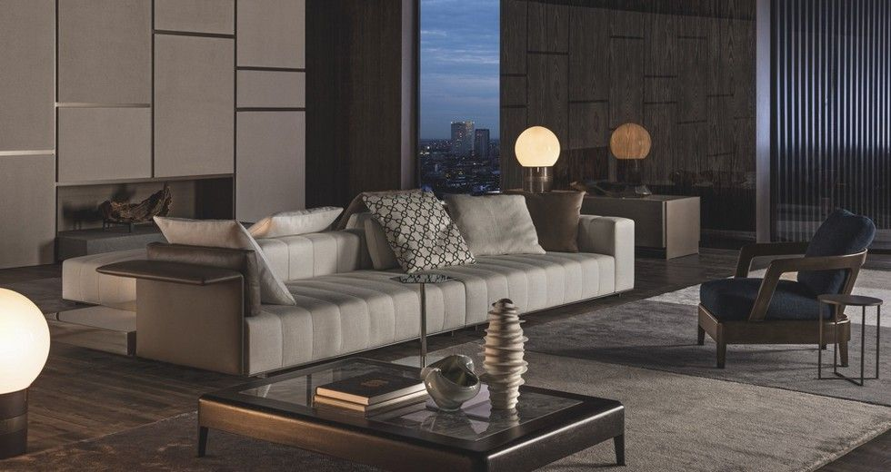 10 Best Minotti Furniture Picks For Your Home  Italian Furniture Prepossessing Best Arch Designs Living Room Design Inspiration