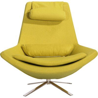 Brayden Studio Hereford Swivel Lounge Chair Upholstery