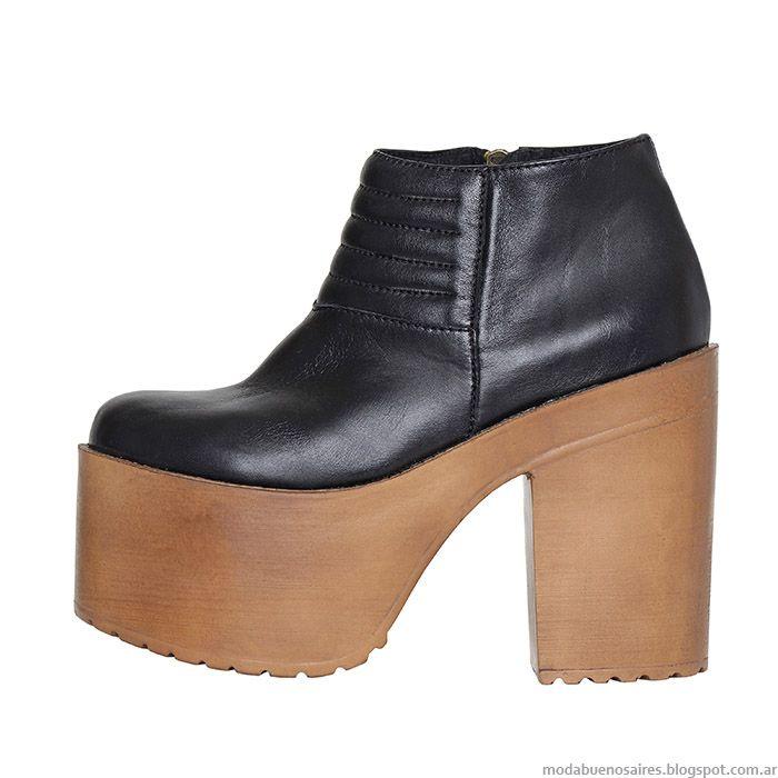 Zapatos Y Botas Otoño Invierno 2015 L Tau Calzado Femenino Zapatos De Invierno Mujer Zapatos Botas Zapatos