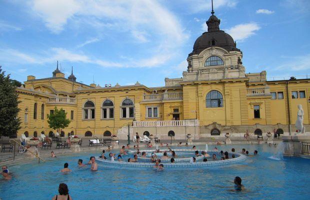 Fotos Los Baños Szechenyi Budapest Termas Balneario