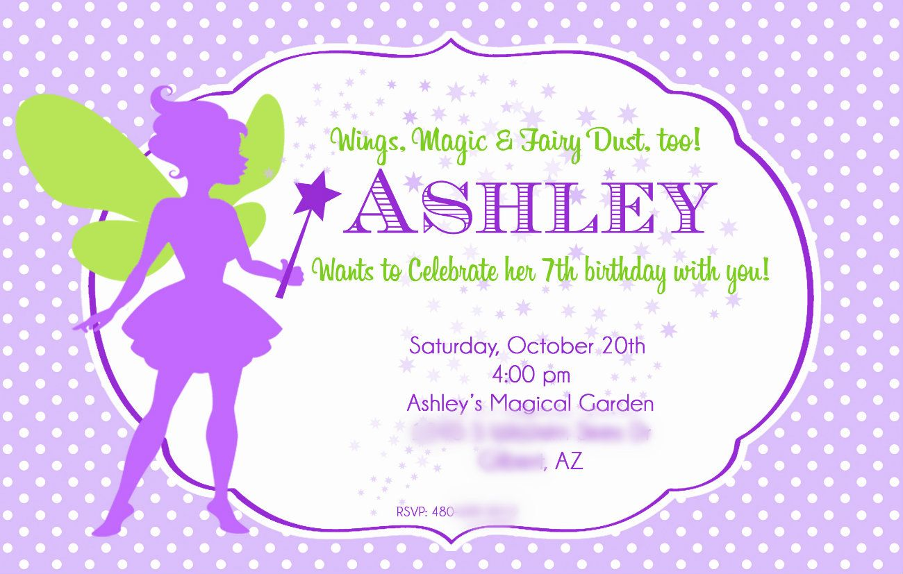 Ashley S Tinker Bell Party Invite Fairy Party Ideas Pinterest