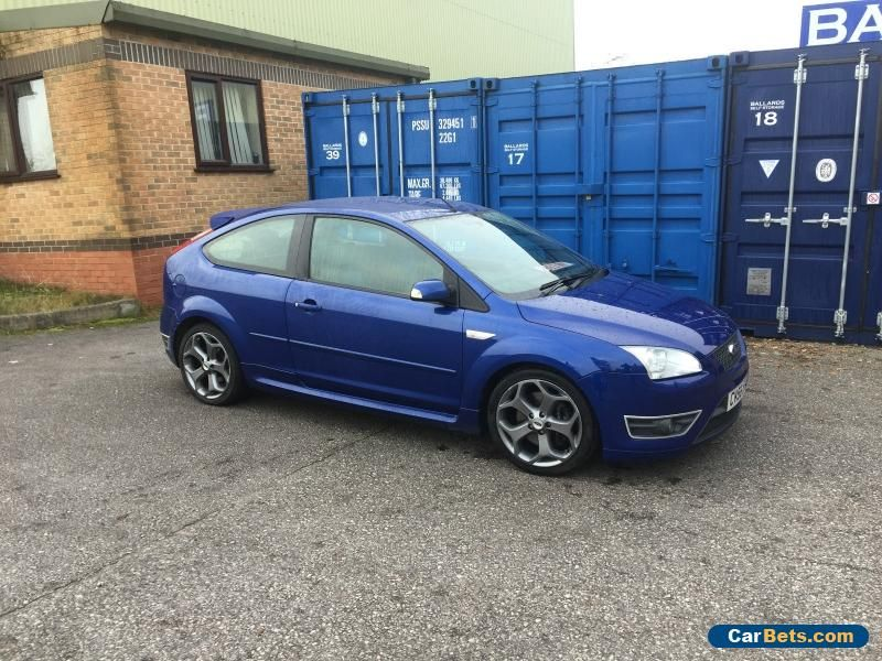 Car For Sale 2006 Ford Focus St 2 Blue With Images Ford Focus