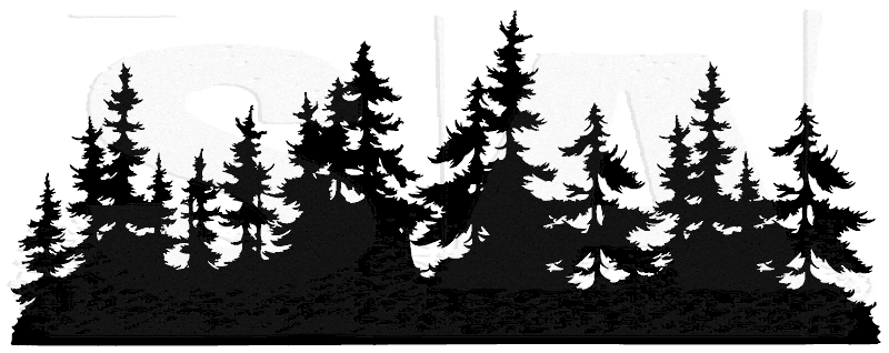 Tim Holtz U5 2671 Small Tree Line Png 800 318 Tree Silhouette Tattoo Forest Silhouette Silhouette Painting