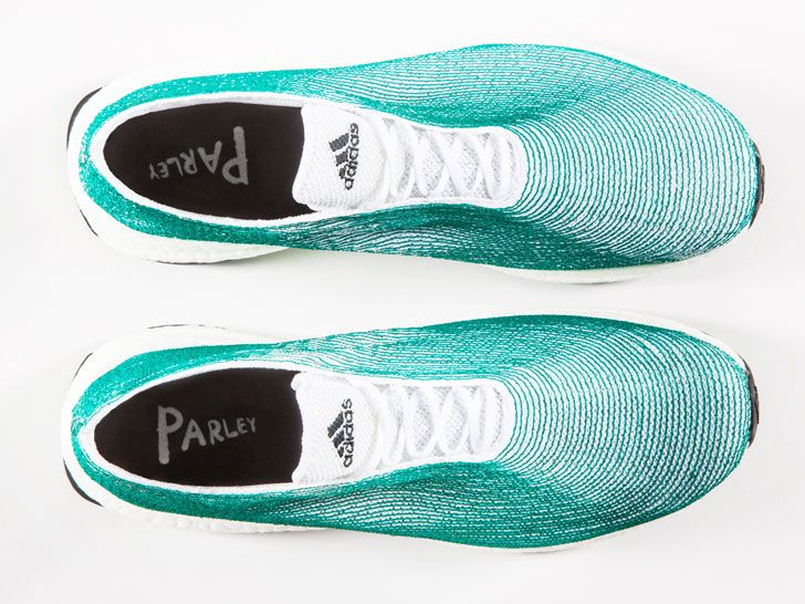 Adidas x Parley shoes made from recycled ocean plastic launch