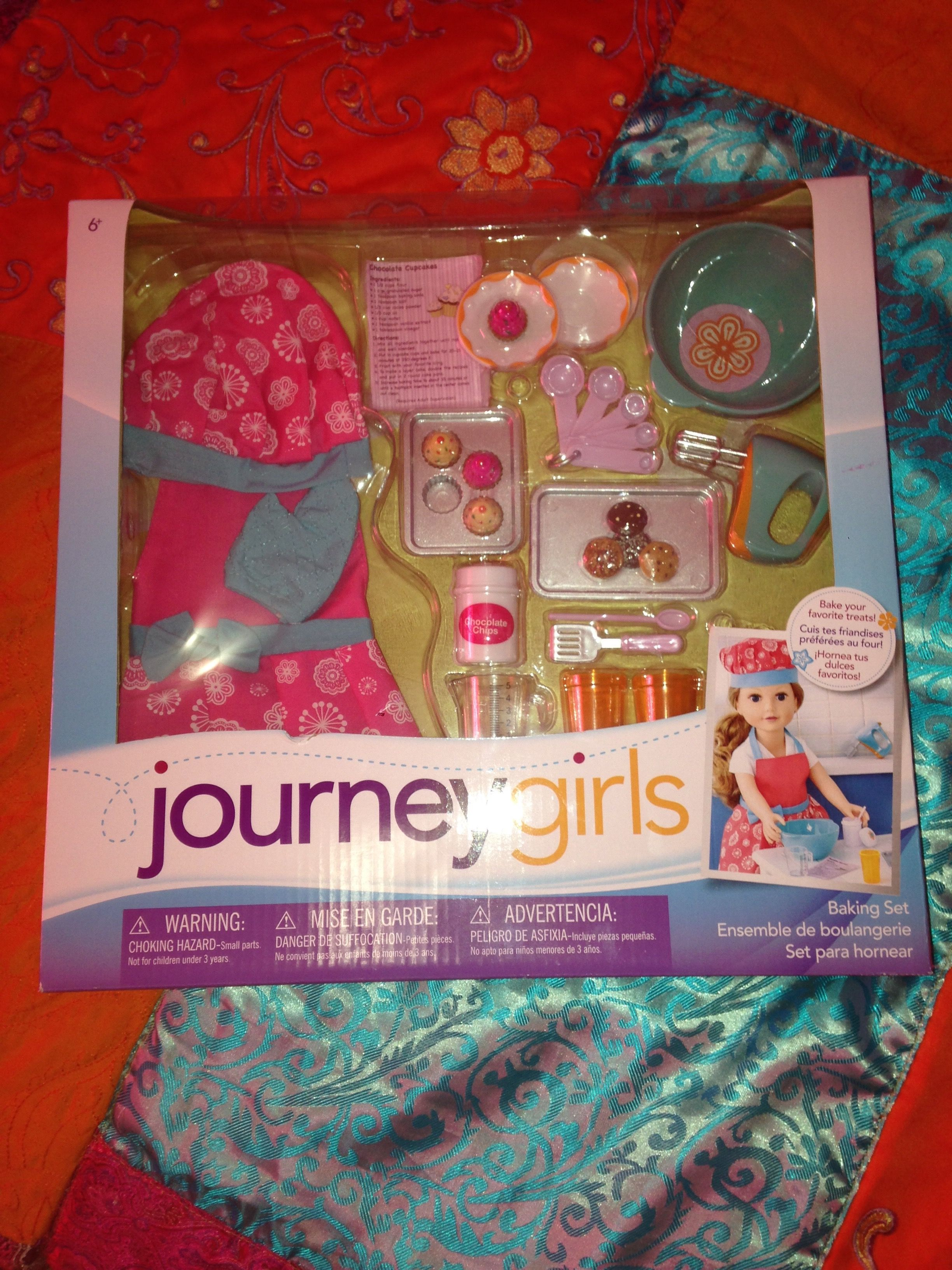 Toys For Girls From Walmart : This journey girls baking set is too cute found it at