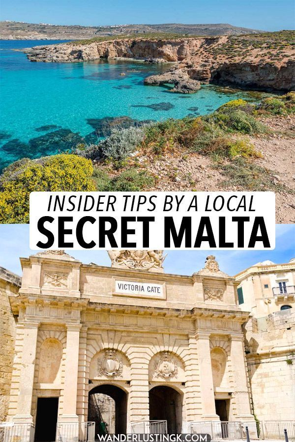Want to get off the beaten path in Malta? Insider tips for Malta written by a local with the most beautiful places in Malta that you haven't heard of and secret Malta spots that you'll want to visit! #travel #malta #gozo #europe