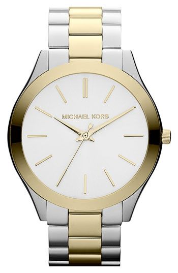 Michael Kors  Slim Runway  Bracelet Watch 2eca238395