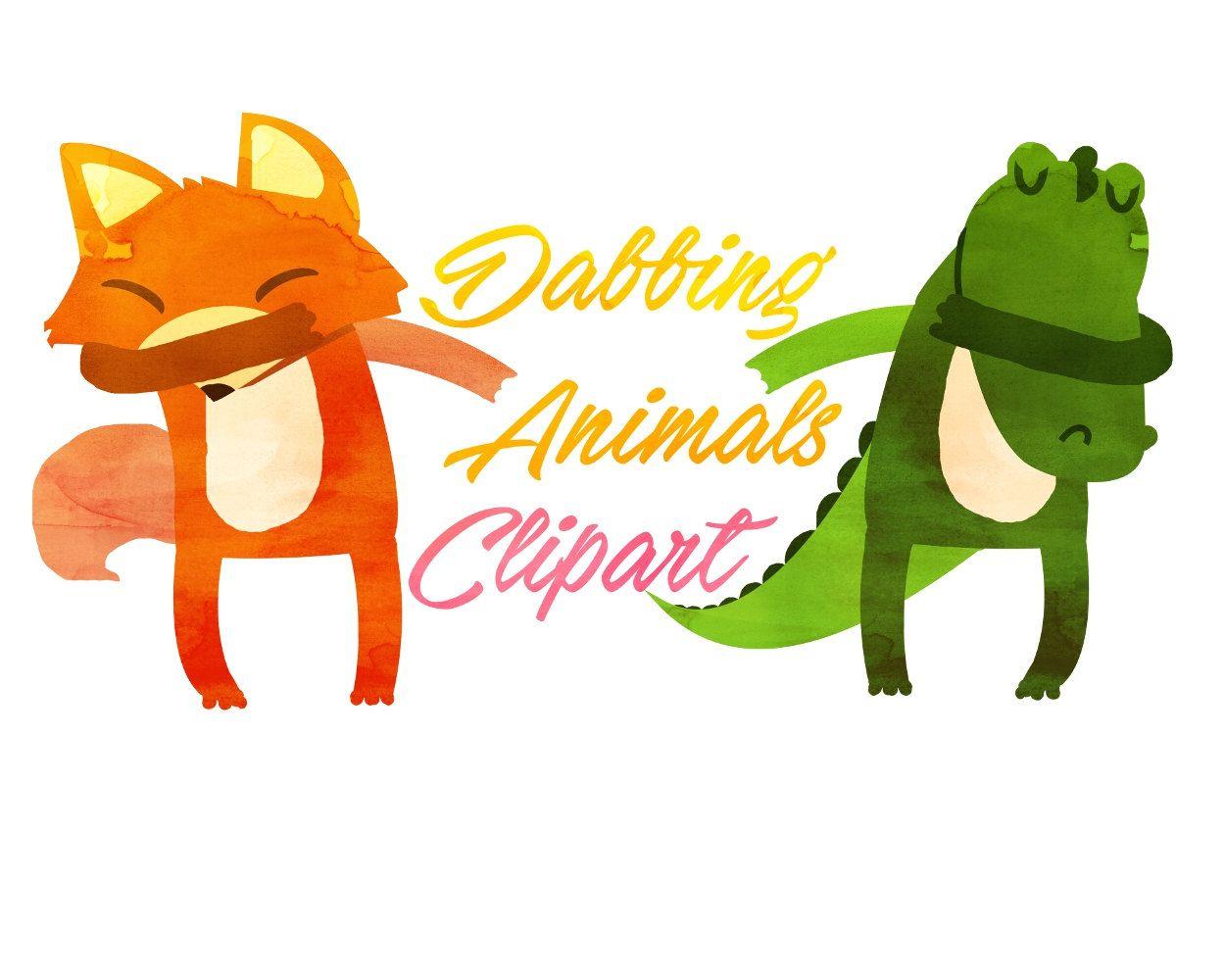 cute dabbing animals clipart animals clip art dab clipart for rh pinterest com smores cartoon clipart smore clipart 48082