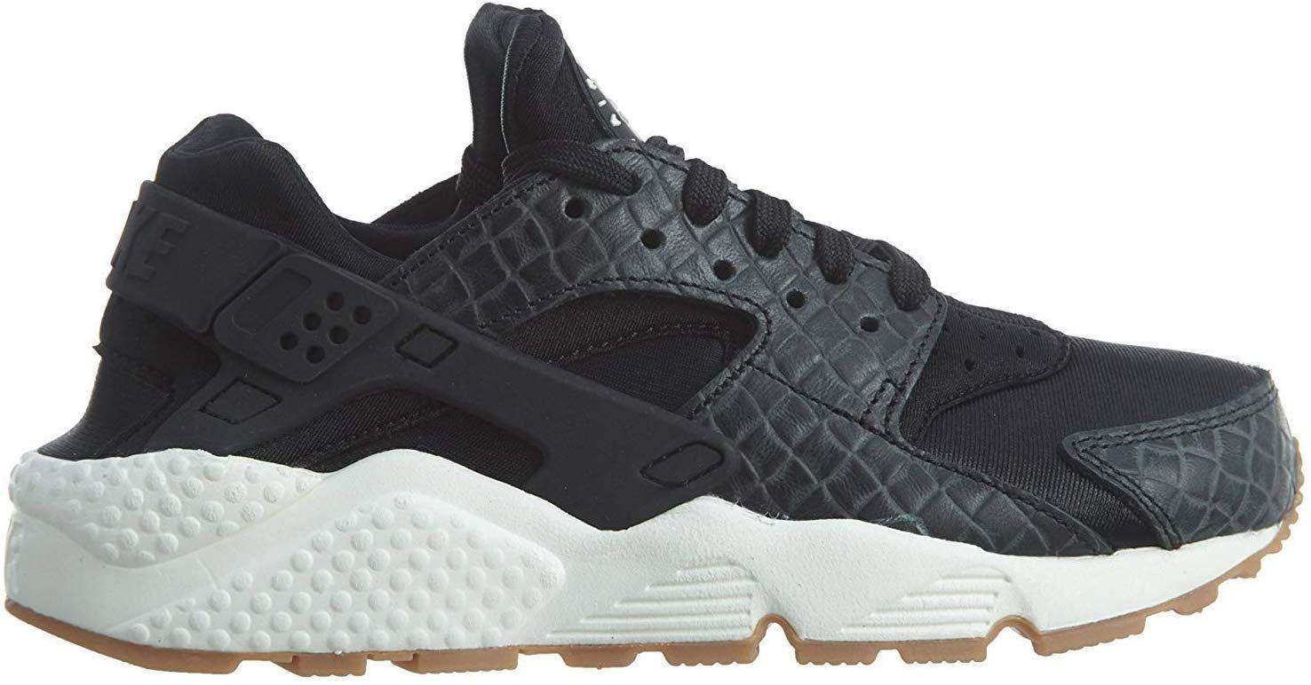 Amazon.com   Nike Womens Huarache Run Fabric Low Top Lace Up ...