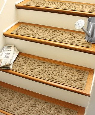 Camel Boxwood Stair Treads - Set of Four