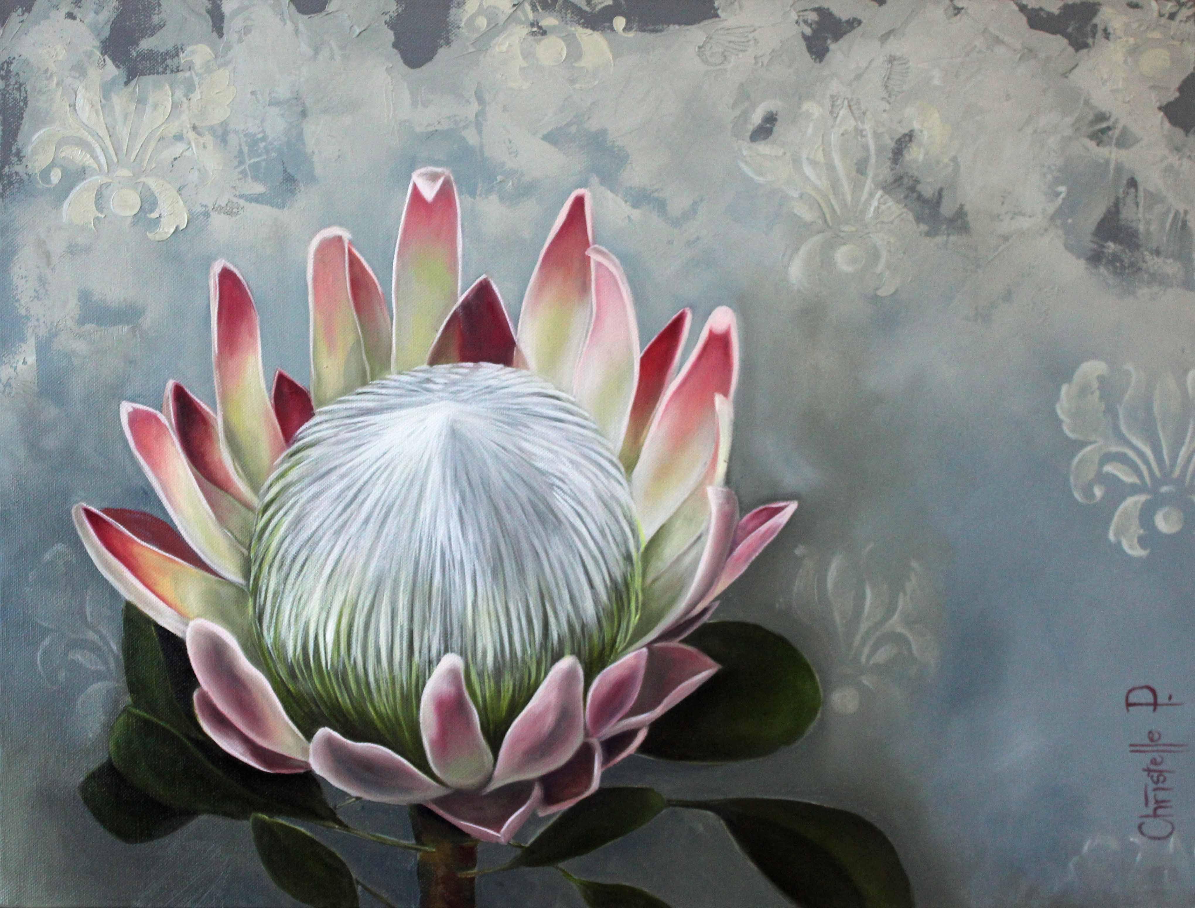Categories Paintings Protea Art Flower Painting Watercolor Flowers Paintings