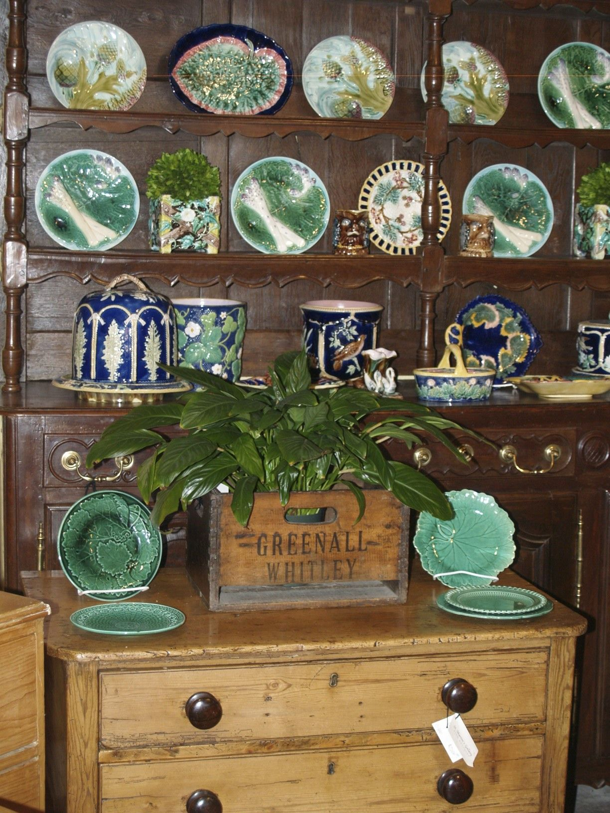 Genial St. Martinu0027s Gallery In Jackson, MS Has The Largest Collection Of Antique  Majolica In The South!