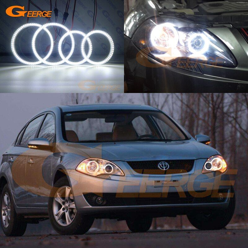 Cheap Car Light Assembly Buy Quality Automobiles Motorcycles Directly From China Suppliers For Brilliance Bs2 Fsv 2009 2010 20 Car Lights Car Led Angel Eyes