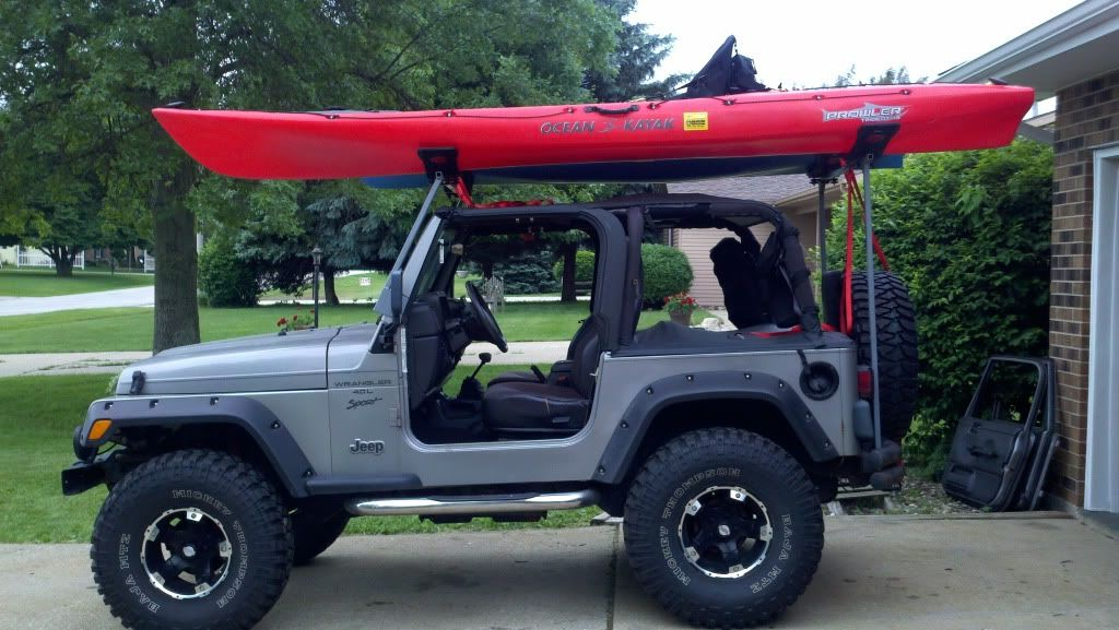 Kayak Rack For A Soft Top Page 2 Jeepforum Com Jeep Camping