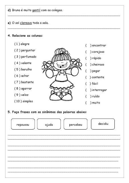 Sinonimos Atividades Pedagogica Suzano Atividades Pedagogicas