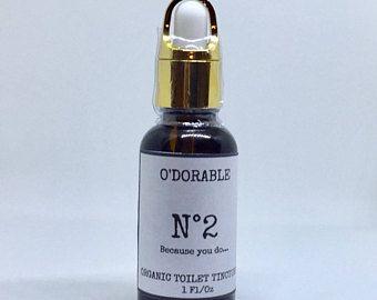 N0.2 Because you do... - O'Dorable - Organic Bathroom Toilet Odor Destroying Tincture Drops - Soap Plantation Naturals - Chesilhurst Farm