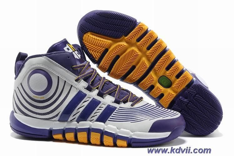 Discounts Club Purple White Yellow Adidas adiPower Howard 3 G22669
