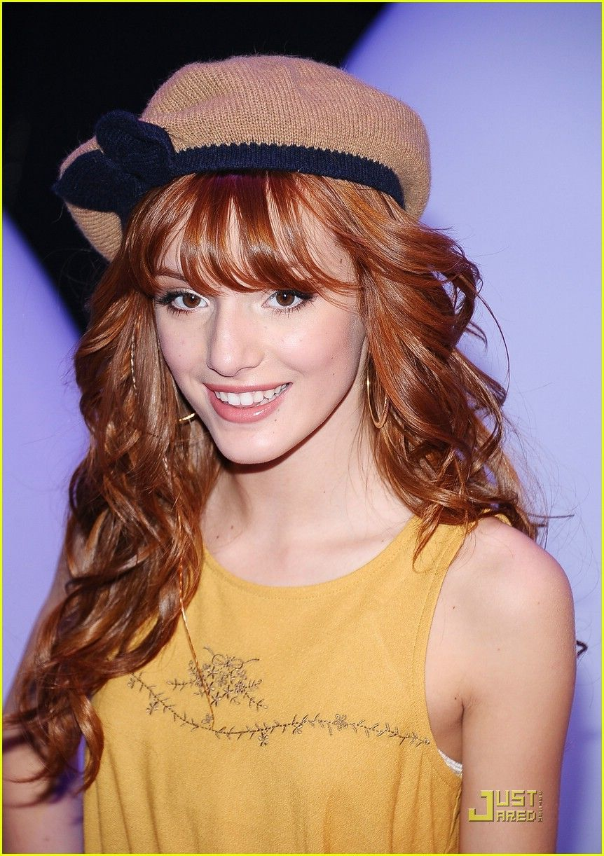 I need her hair. And her hat. And to have 14-year old skin again.
