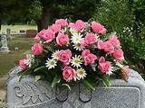 Headstone saddle Grave decoration #friedhofsblumen Headstone saddle Grave decoration #friedhofsdekorationenallerheiligen