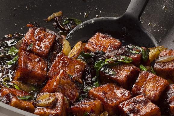 Жаркое из тофу