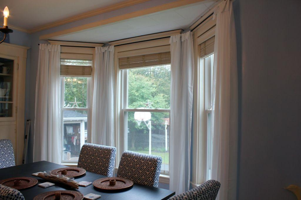Küche Bucht Fenster Behandlungen Haus Küche Bucht Fenster