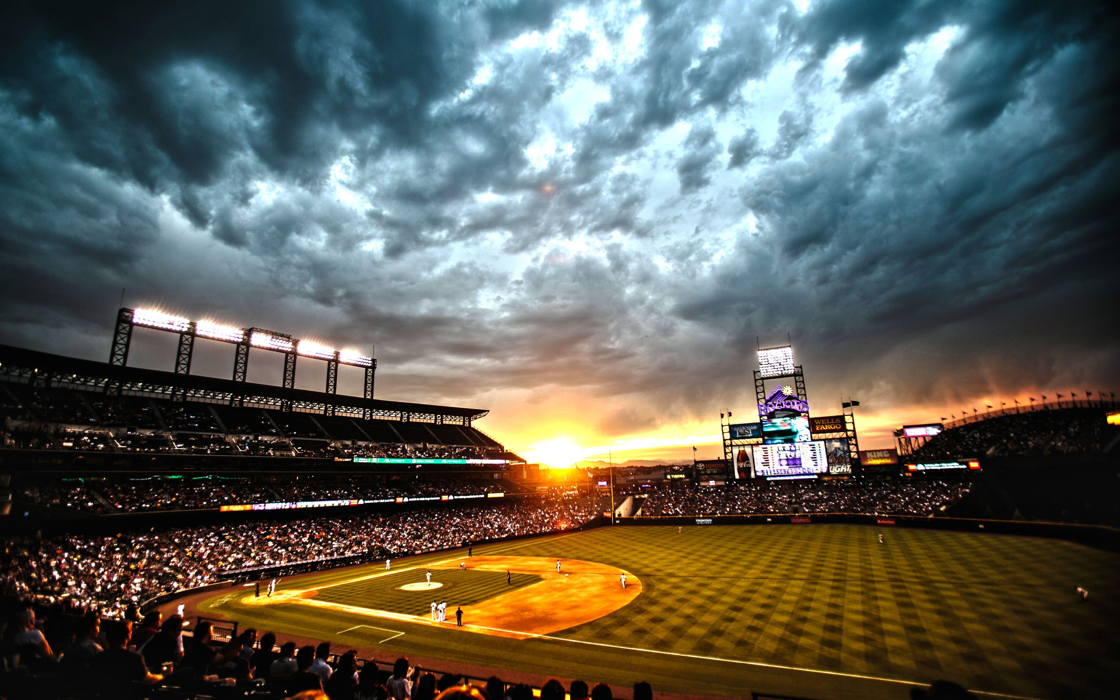 40+ Baseball Sunset Wallpapers Download at WallpaperBro