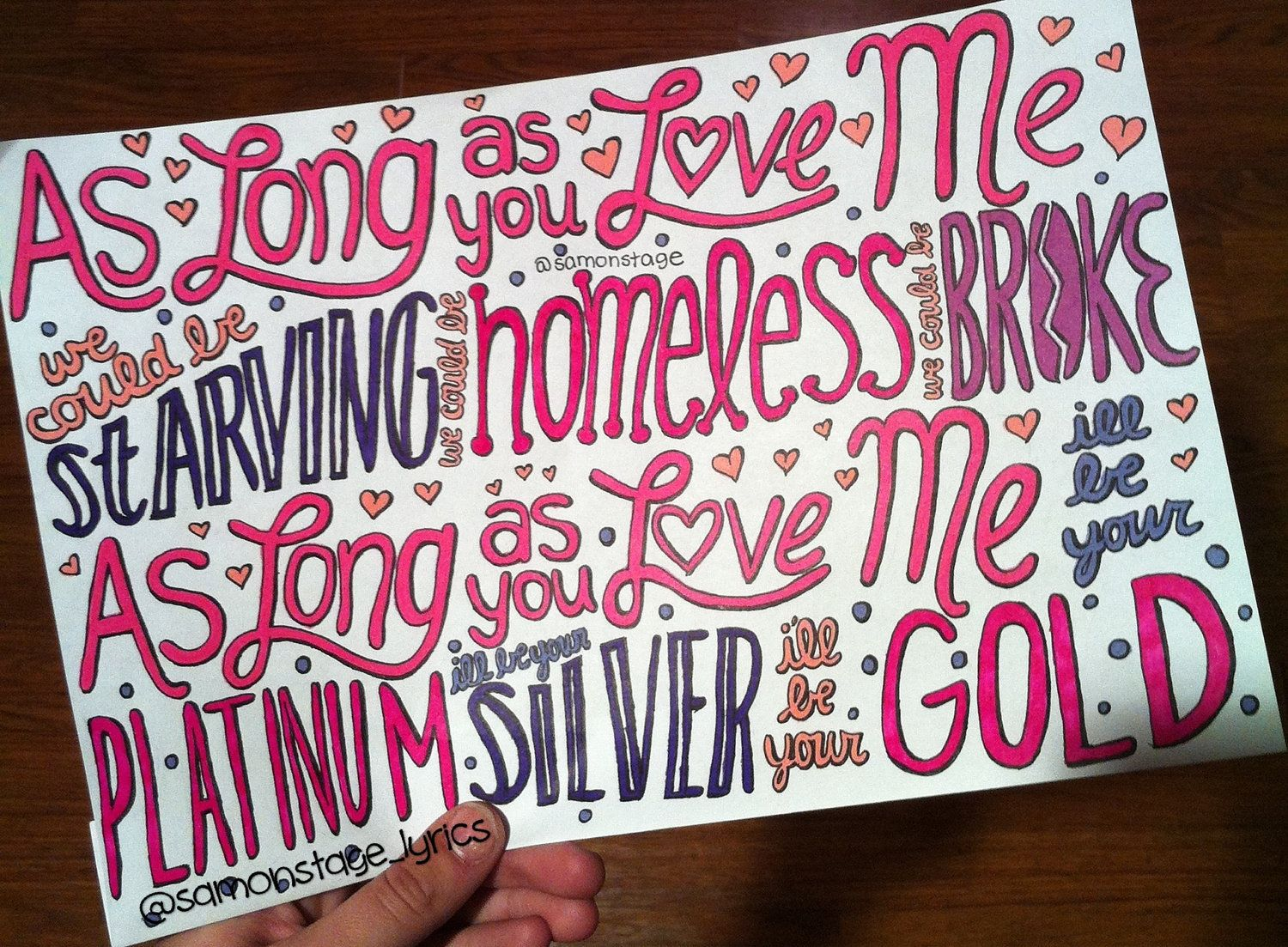 Justin bieber tumblr lyrics live quotes - As Long As You Love Me Lyric Drawing I M Sorry But I Love Justin Bieber And I M Not Afraid To Admit That