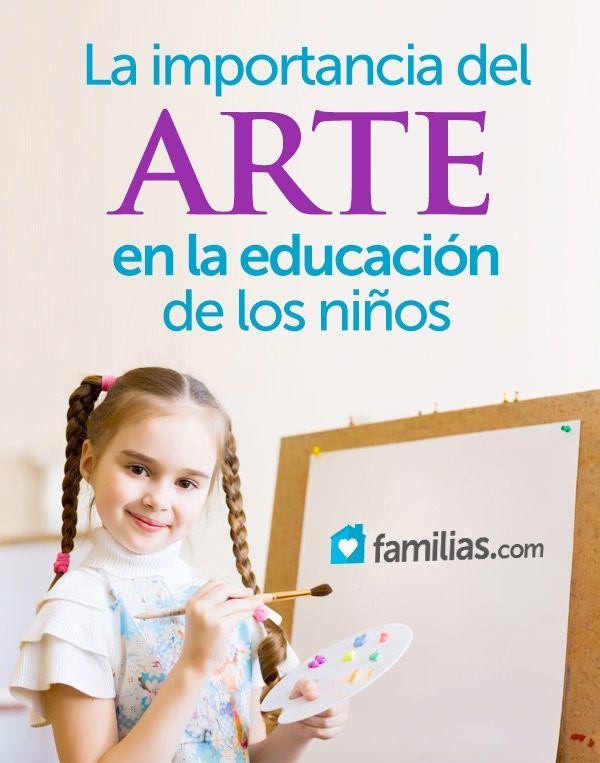 La importancia del arte en la educación de los niños