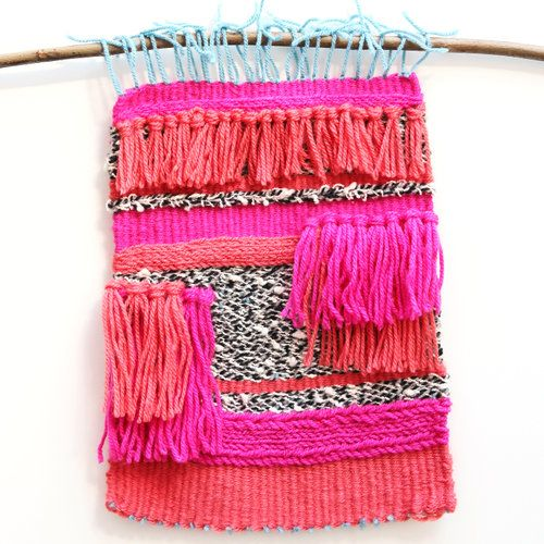Things I Ve Made From Things I Ve Pinned Diy Woven Wall Hanging Yarn Wall Hanging Woven