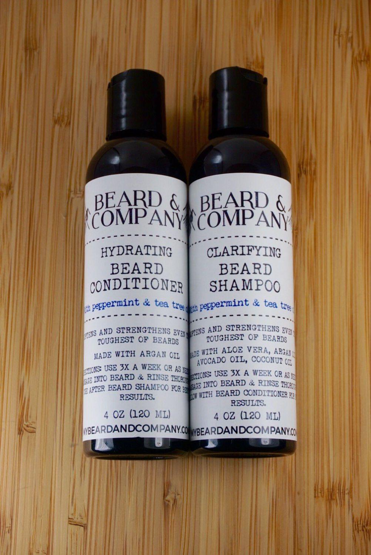 Beard Shampoo and Conditioner Set | Hair styling | Beard