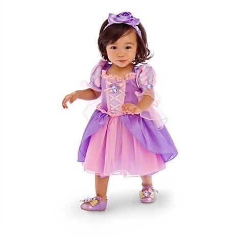 4983ac2a0 Disfraz Rapunzel Bebe Tangled Disney Store Sobre Pedido en Mercado Libre  México