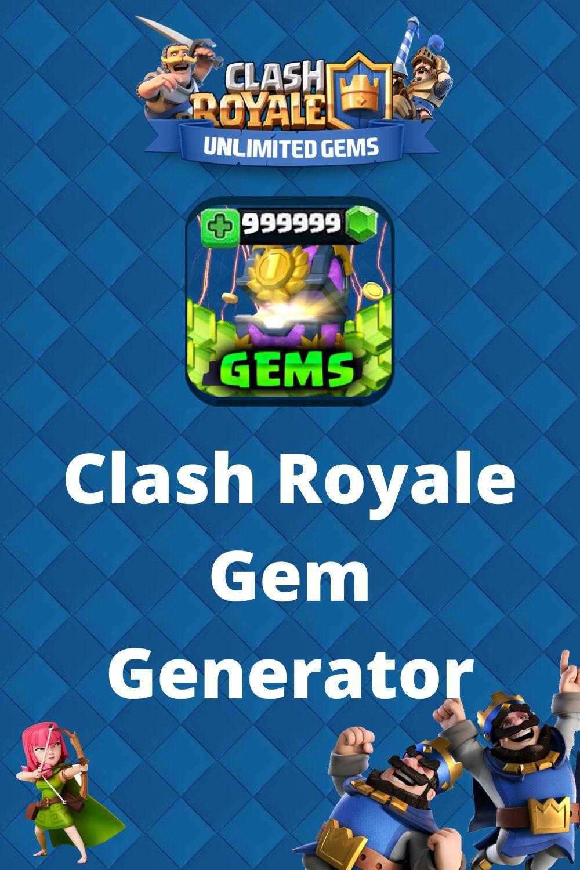 Gem Generator Clash Royale No Verification