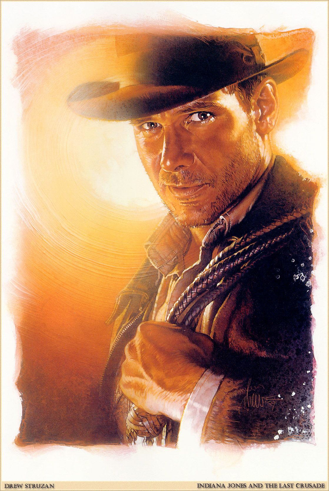 Indiana Jones by Dew Struzan