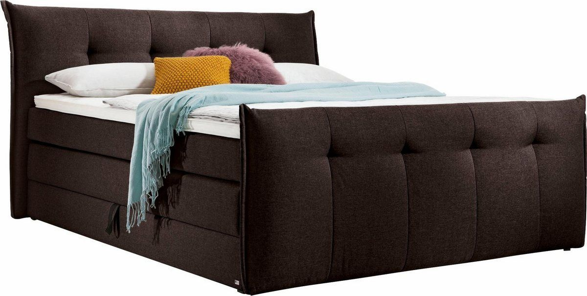 Boxspringbett Florida Mit Bettkasten In 5