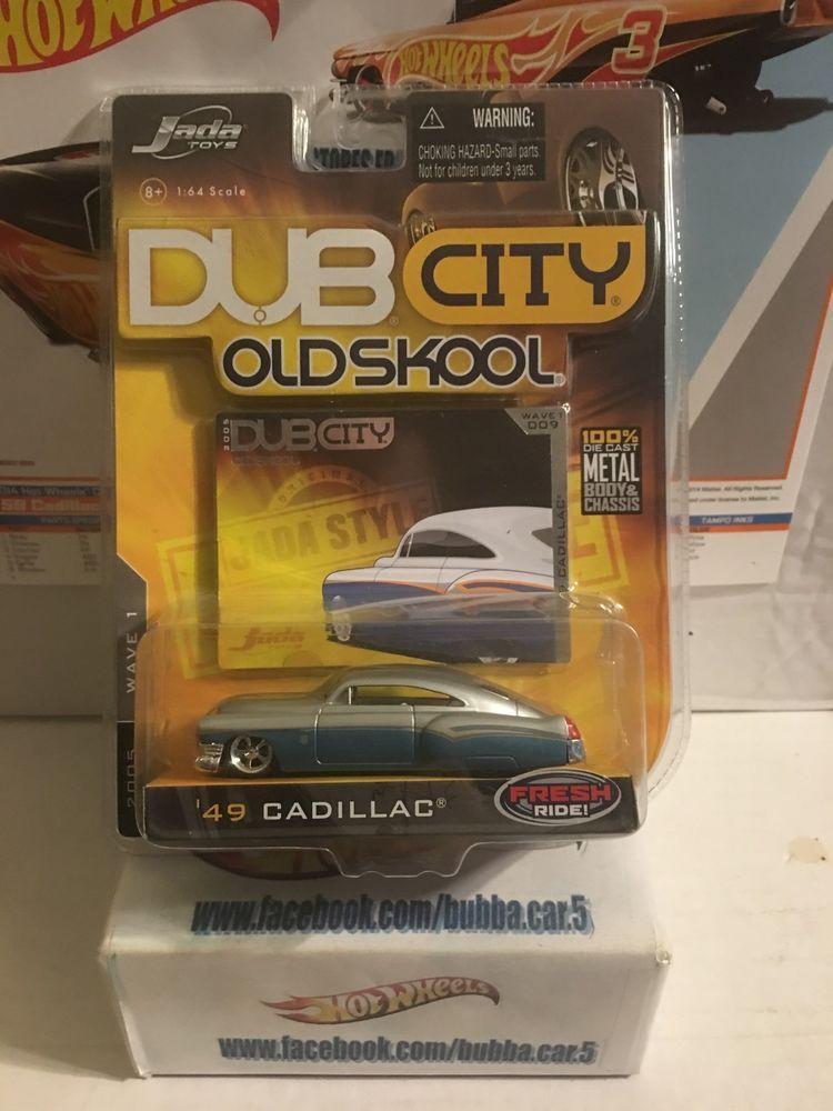 JADA TOYS 2005 DUB CITY OLD SKOOL \'49 CADILLAC WAVE 1 COLLECTOR #009 ...